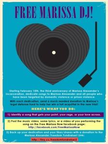 Marissa DJ leaflet